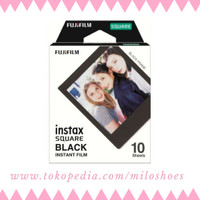 Isi Refill Instax Square SQ Black - isi 10 lembar