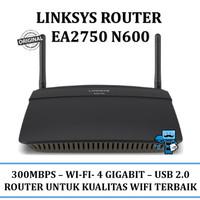 Router LINKSYS EA2750-N600 Wi-Fi (GARANSI RESMI 3 TAHUN)