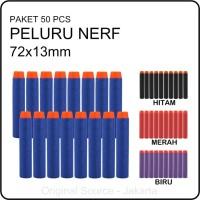 50pcs Peluru Busa Lunak Soft Bullet Nerf Gun Aman Untuk Anak - F102