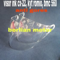 Kaca helm / visor helm ink cx 22 - kyt romio - nhk x2 - mds - bmc