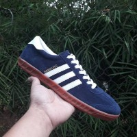 Sepatu Adidas Hamburg Sole Gum Sneakers pria terbaru Casual