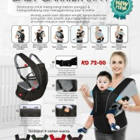 Gendongan Kiddy Hipseat Baby Carrier 6in1 KD 72-00 New