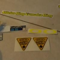 Stiker fullset untuk semua helm kaca visor nhk terminator r10 rc7 k2r