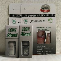 obat jamur kuku kutu air herpes eksim Super Green Plus JK 7