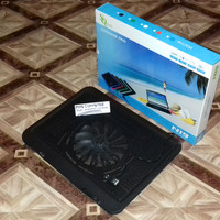 Kipas laptop/Cooling Pad N19/ Coolfan/Cooler Fan Notebook - Hitam