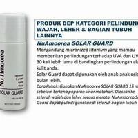 kulit wajah berminyak solar guard Nu Amoorea 100% original