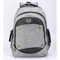 B&B Laptop Bag-Ransel Canvas Catenzo Unisex - ST050