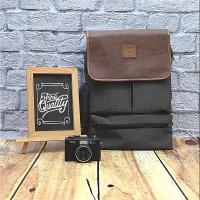 B&B Laptop Bag-Ransel Canvas Catenzo Unisex - YD036