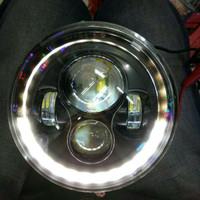 Lampu daymaker harley 7 inch motor mobil