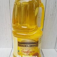 GOLDEN BRIDGE SUNFLOWER OIL 2 L Best Seller!