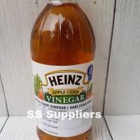 Heinz Apple Cider Vinegar / Cuka Apel 473 ML Best Seller!