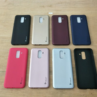 Case Samsung J8 2018 Softcase Jellycase Violet Premium Samsung J8 2018