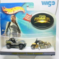 Hot Wheels Action Pack 2004 Game Lara Croft Tomb Raider Hotwheels
