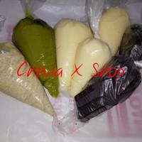 Toping Donat Pisang Nugget Coklat Tiramisu Greentea Durian Strawberry