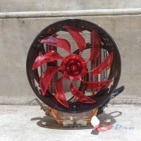 Abatap 800 HSF CPU Cooler Cooling Fan 4 Heatpipes RED