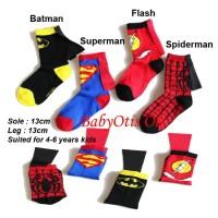 Kaos Kaki Anak Superhero Kids Sock Super Hero