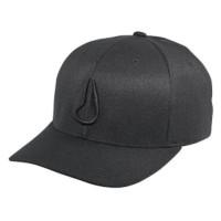 Nixon Deep Down FF Athletic Fit Hat All Black L XL C1075001-24