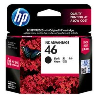 Tinta HP 46 Black Ink Catridge - Original (CZ637AA