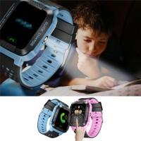 """Smart Watch 1.44 """"Layar Sentuh HD Jam Tangan Anak dengan Senter"""