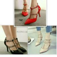 sepatu / high heels stut valentinoo afh