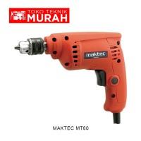 Maktec Mt60 / Mt 60 Mesin Bor Tangan 10mm - Economical Power Drill