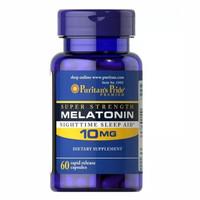Puritan's puritan puritans pride melatonin 10mg 10 mg 60 caps