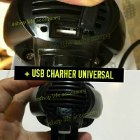 Lampu sorot/tembak led Motor RTD e03 C flood   Charger/chasan HP USB