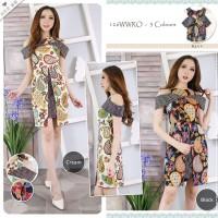 Bodycon Dress - Dress Batik Modern - Sackdress Sabrina