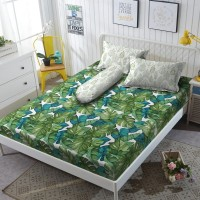 Kintakun Sprei D'luxe - 180 x 200 B4 (King) - Green Forest