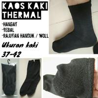 Kaos kaki thermal hangat rajut wool spandex TNI