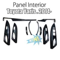 Panel Interior Toyota All New Yaris-Vios 2014-17 Carbon