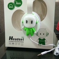 HEADSET / HEADPHONE BONEKA OPPO