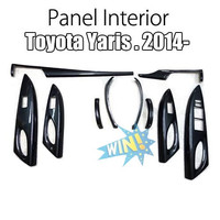 Panel Interior Toyota All New Yaris -Vios 2014-17 Carbon