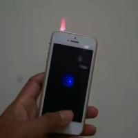 Korek Api Gas Elektrik Bentuk Iphone