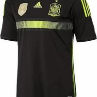 jersey bola GRADE ORI Spain Away Adidas Official World Cup 2014