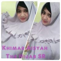 Khimar Aisyah Pet Rampel