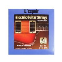 Senar Gitar Elektrik L'espoir Nickel Wound Regular Light (010) LE-10