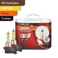 Osram Lampu Kabut Mobil H8 Fog Breaker 12V 35W - 62212FBR - Kuning