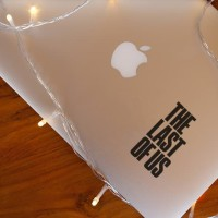 Decal Sticker Macbook Stiker Video Game The Last Of Us Laptop