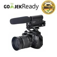 Takstar Mikrofon Kondenser Mic Condenser Shotgun Kamera DSLR SGC 598