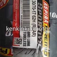 BAN ASPIRA PREMIO 130/70-17 SPORTIVO - FREE PENTIL TUBLES