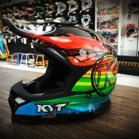 Helm, KYT, Sky hawk, trail, cross, trabas, enduro, grasstrack