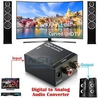 [FULLSET] PC / TV Converter Audio Digital to Analog RCA