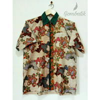 Baju Batik Pria / Kemeja Batik size XL