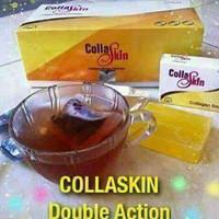 Collaskin minuman dan sabun colagen collagen halal alami bpom pemutih
