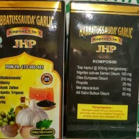 Promo 2018 Habbatussauda Garlic 5 in 1 JHP isi 205 kapsul