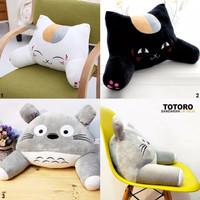 Bantal Punggung Cute Cat Totoro
