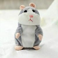 Boneka Lucu Hamster bisa bicara (pakai batre)