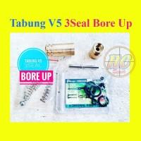 Tabung V5 od22 3seal bore up / tabung Bore up / Tabung 3 seal
