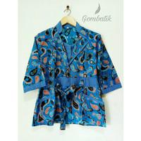 Baju Batik Wanita / Blouse Batik size XL